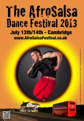 AfroSalsa Festival, Cambridge, July 13th-14th 2013