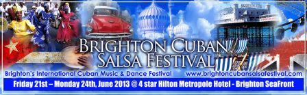 Brighton Cuban Salsa Festival, June 21st-24th
